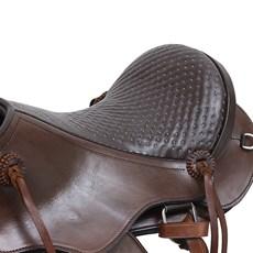 Sela de Cavalo Australiana Tradicional Elite Bronc-Steel Assento 16'' 27573