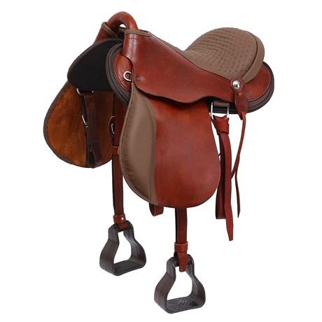 Sela para Cavalo Australiana 15'' Havana Bronc-Steel 26553