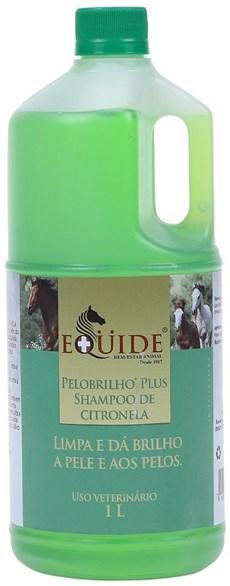 Shampoo de Citronela para Cavalo 1L Pelo Brilho Plus Equide 20213