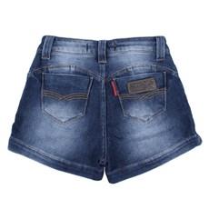 Short Feminino Jeans Destroyed Rodeo Western 24703