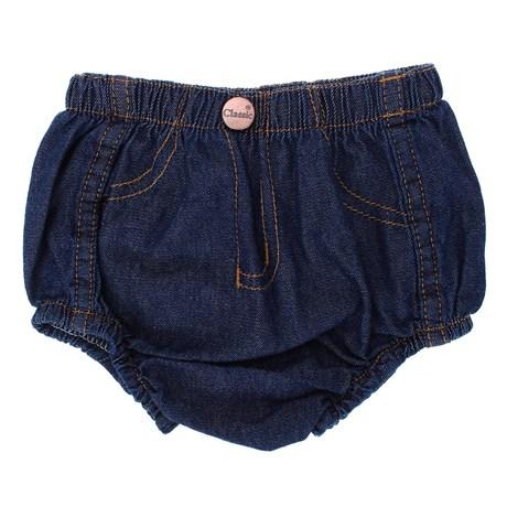 Short Jeans Infantil 100% Algodão Amaciado - Classic