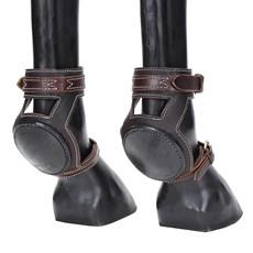Skid Boot de Couro Americano para Cavalos Rodeo West 22115