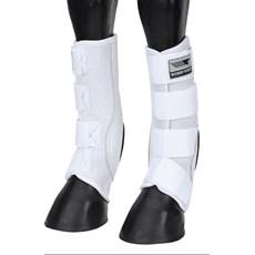 Skid Boot Longo para Cavalo Rodeo West Branco 21248