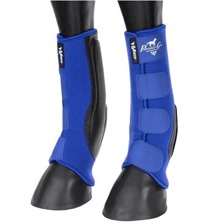 Skid Boot Longo Professional's Choice VenTECH em Neoprene Azul 16185