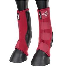 Skid Boot Longo Professional's Choice VenTECH em Neoprene Vermelho 16184