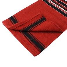 Sobremanta Boots Horse Vermelha Estampada 26223