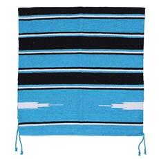 Sobremanta Mustang para Cavalos Navajo Azul Claro 21798