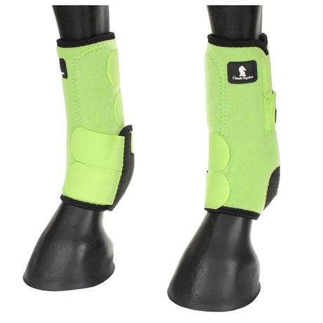 Splint Boot Classic Equine Legacy Importado Verde 15681