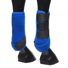 Splint Boot Dianteiro Azul Equitech 29478