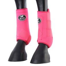 Splint Boot Dianteiro Rosa Boots Horse 28541
