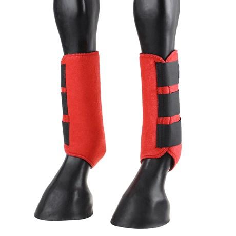 Splint Boot Equitech em Neoprene Vermelho 25557