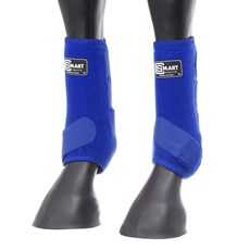 Splint Boot para Cavalo de Neoprene Azul Royal Smart Choice 28124