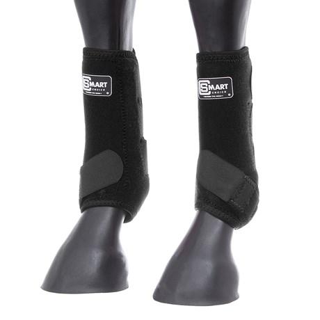 Splint Boot para Cavalo de Neoprene Preto Smart Choice 28125
