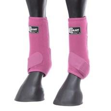 Splint Boot para Cavalo de Neoprene Rosa Smart Choice 28127