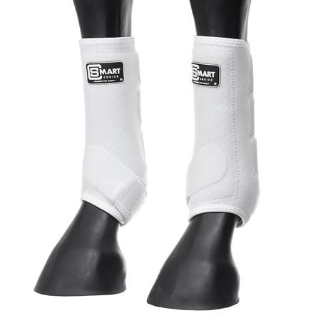 Splint Boot para Cavalo de Neoprene Smart Choice Branco 28123