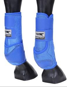 Splint Boot para Cavalo Rodeo West Azul 21249