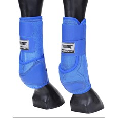 Splint Boot para Cavalo Rodeo West Azul 21249
