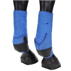 Splint Boot Traseiro Equitech em Neoprene Azul 15661
