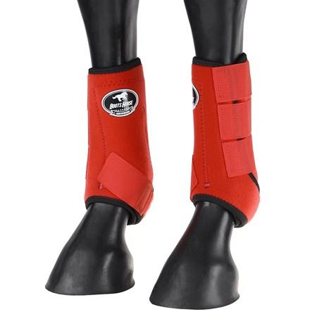 Splint Boot Vermelho Boots Horse para Cavalo 25755
