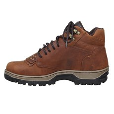 Tênis Country Masculino Couro Marrom Cow Way 26637