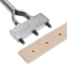 Vazador Manual Pente 3mm para Couro - Bronc-Steel 17686