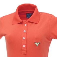 Vestido Gola Polo Feminino Coral Smith Brothers 27534